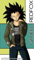Yet Another Gajeel COLORED by ZombieGirl01
