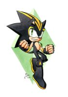 AT: Shard the Hedgehog by FinikArt