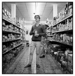 Paul in the supermarket I by Stormblast