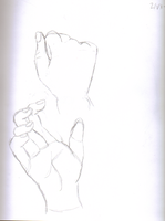 Hand Study 4 by waterfish5678901