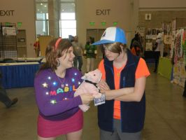 Nekocon 2012 Gravity Falls Cosplay by caseygracy1234