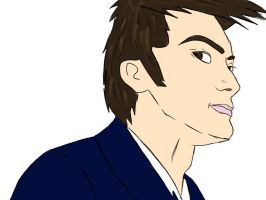 The Doctor 'David Tennant' by Whogal1