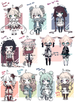[CLOSED] New Years Adopts -- Set prices by silverblossoms