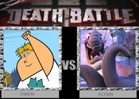 DEATH BATTLE: Owen vs Flynn by HunterxColleen
