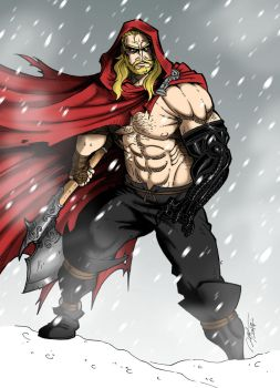 The Unworthy Thor by Ronniesolano