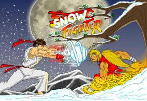Snow Fighter by Flo-Jitz