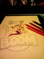 boom sketching by Eason41