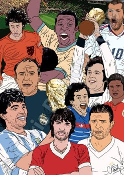 Top 10 Footballers... by cbishop