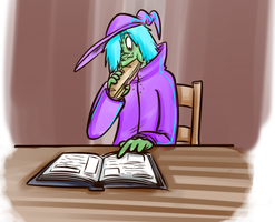Books and Sammiches by LucidDreamPop