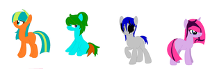 Pony adopts ~FREE~ by RoseyThePonyArtist