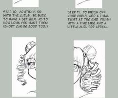 Hair Curls Tutorial by KeyshaKitty