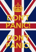 Corporal Jones' keep calm and carry on by Will-of-the-spurr