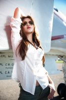 Amy at Miramar Air Museum 9 by trevor-w