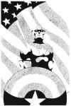 Captain America by elBad