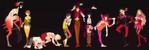 Persona 4 Circus by french-teapot