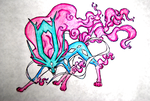 Suicune Evolution by SaneiVio