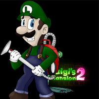 Luigi Mansion by EarthBoundMOTHER2