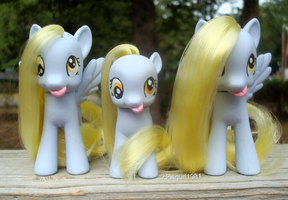 Three Derpys *all for sale* by okiegurl1981