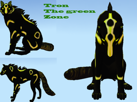 Tron Adoptable by Vintage-Mutt