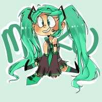 Mikuuu by hyperstaticUNION