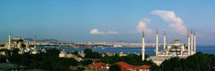 Hagia Sophia and Blue Mosque by TuRKoo