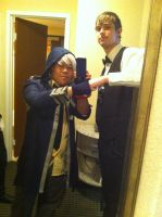 Soma and Shizuo(LouisiANIME 2013) by Hound-02
