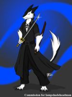 COM : Sash the Immortal Knight by whiteguardian