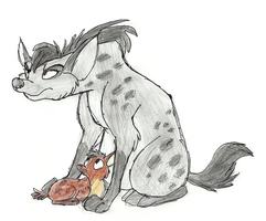 Mama Hyena by Mimi-fox
