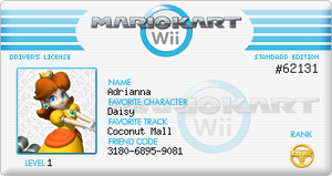 Updated MKW License by sagethemouse