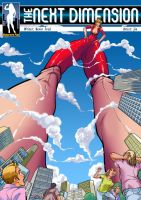 The Next Dimension 2 - Lizzy in a Not-So-Big City by giantess-fan-comics