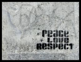 Peace Love Respect by tanya-n