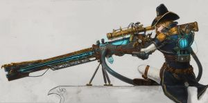 The Order 1886 contest entry: Rail gun by DeVmarine