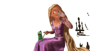 Rapunzel Work In Progress by nenglehardt