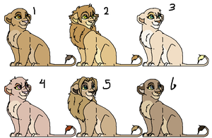 Lion Adopts -closed- by oCrystal