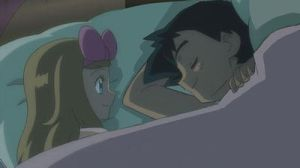 Ash/Satoshi sleeps with Serena by Empire-of-PokeJapan