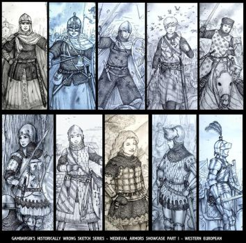 Women in Historical Armors Are Beauitful Too! (1) by Gambargin