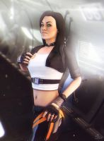 Miranda Lawson by SallibyG-Ray