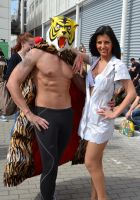 Tiger Man and wife by KillerGio