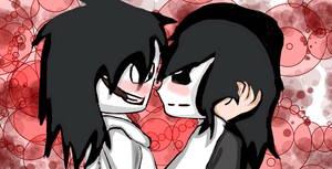 Jeff the Killer and Jane The Killer! by AmericaFangirl