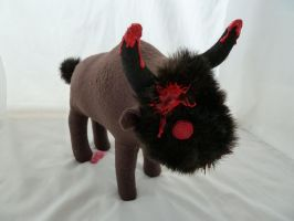 Zombie Buffalo by IckyDog