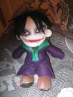Dark Knight Joker Plush by IrashiRyuu