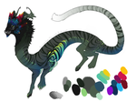 Tropical Tiger Dragon DC by Screeches