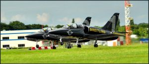Breitling Take off 2 / FAS 2012 by Somebody-Somewhere