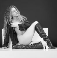 ECLIPSE's Boots 2 BW by huitphotography
