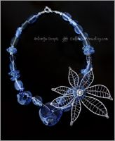 Night Blossom necklace by Faeriedivine