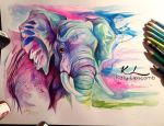 81- Elephant II by Lucky978