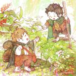 Lord of the rings- Frodo and Sam by harmonia3784