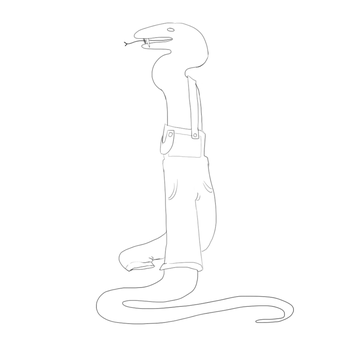 Snake In Overalls by ValorousKid