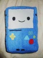 Adventure Time BMO Plushie by Number1FMAfangirl