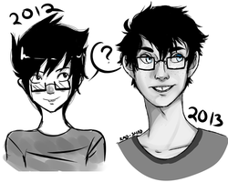 John Egbert-2012 and 2013 by RAD-SHAD